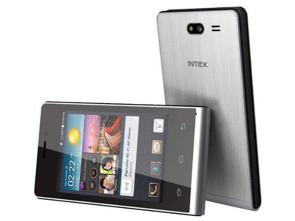 Intex Launches Aqua V4 Android KitKat Smartphone At Rs 2,699
