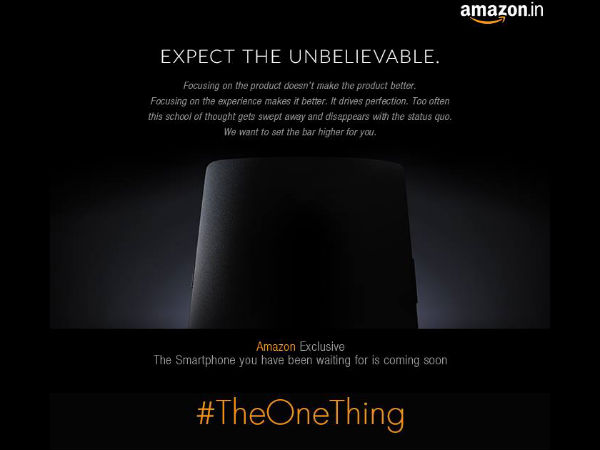 OnePlus One To Launch Soon in India Via Amazon India Exclusively