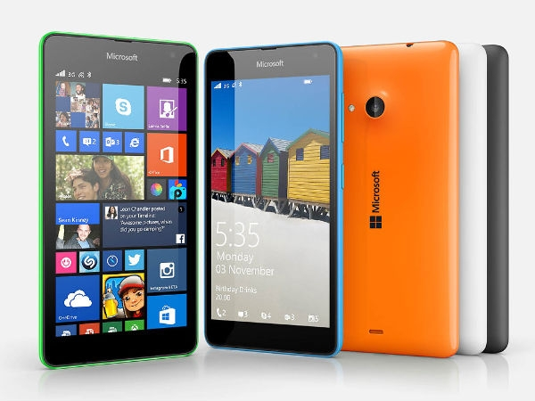 Exclusive: Microsoft Lumia 535 Price and Availability Revealed