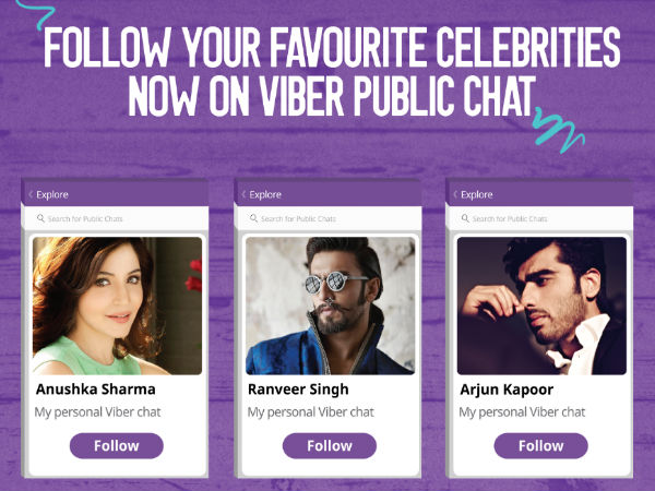 Viber Launches Public Chats To Bring Users Closer To Celebrities