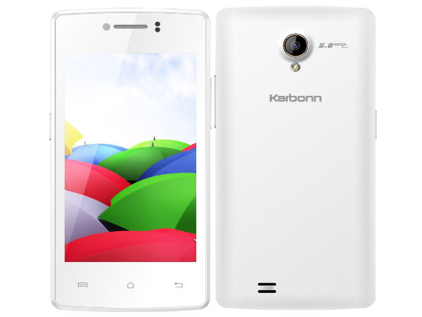 Karbonn Titanium S6, S8 and S4 Plus Smartphones Now Available Online