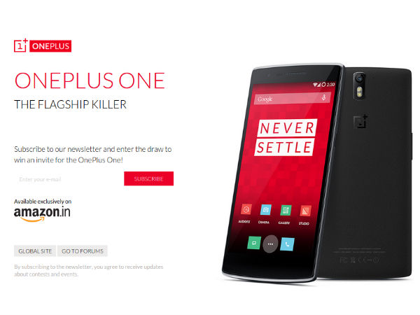 OnePlus One To launch in India on Dec 2 Via Amazon