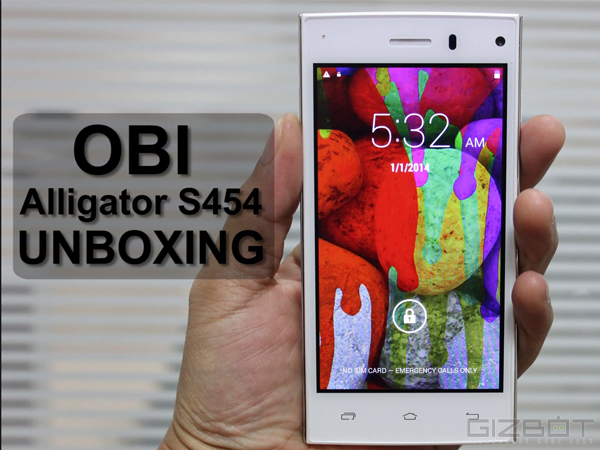 Watch Obi Alligator S454 Unboxing [VIDEO]