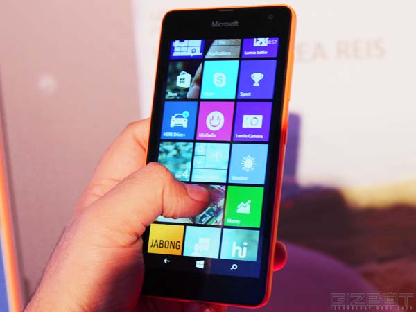 Microsoft Lumia 535 First Look