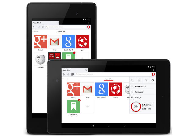 Opera Mini 8 beta Launched For Devices Running Android v2.3 and Later