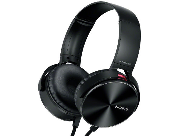 Sony Launches MDR-XB450BV Headphone At Rs 5,990