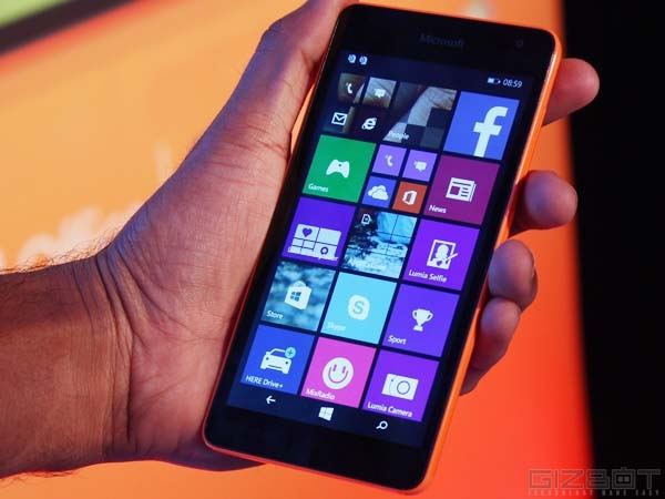 Microsoft Tipped To Launch 3 New Windows Phone Smartphones