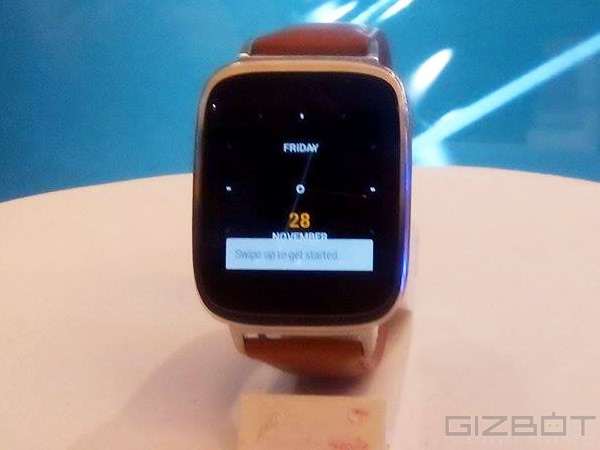 Asus ZenWatch to Debut in India by March 2015