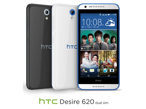 HTC Desire 620 Goes Official in Taiwan