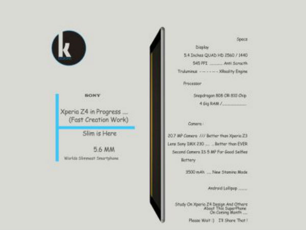 Sony Xperia Z4 Set for 2015 Release? 5 Interesting Concept Images