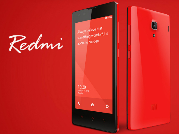 Xiaomi To Sell 100,000 Units Of Redmi 1S On November 4