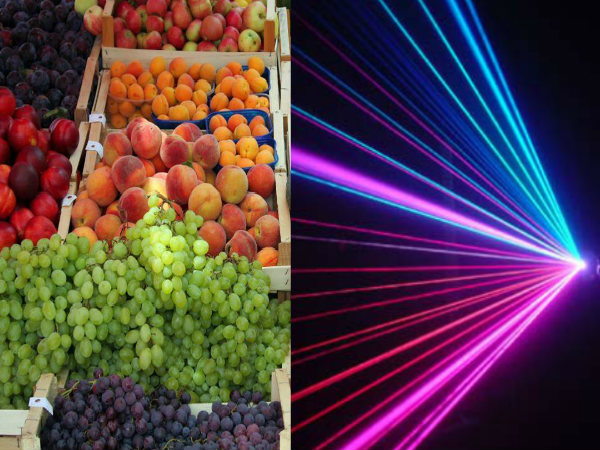 Get Ready to Taste Laser-Tested Fruits