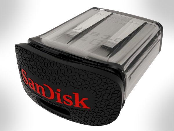 SanDisk UltraFitUSB 3.0: CompactFlash Drivelaunched, Price Starts