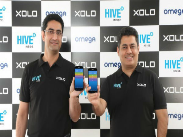 Xolo Omega 5.0, Omega 5.5 Smartphones Officially Launched