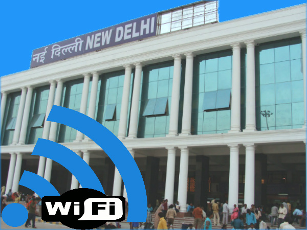 Railways Start Wi-Fi Services at New Delhi Station