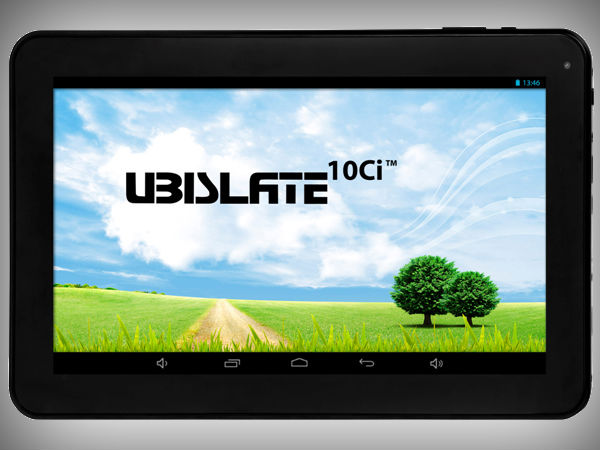 UbiSlate 10Ci and 3G10: Budget Tablets with 10 inch display launched