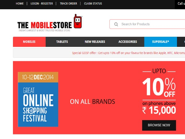 Up To 10% Off on New Smartphones