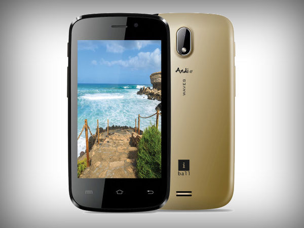 iBall Andi 4F Waves: Budget smartphone with Android KitKat launched at