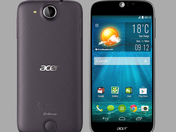 Acer Reveals Octa-Core 64-Bit Liquid Jade S in Taiwan