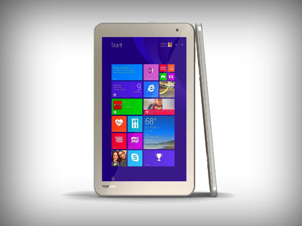 Toshiba WT-8 with 8-inch display,Windows 8.1 launched in India
