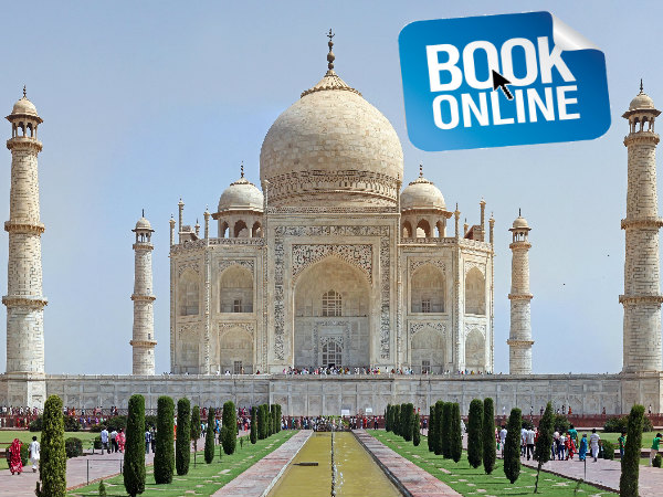 Online Ticket Booking for Taj Mahal Entry from Christmas