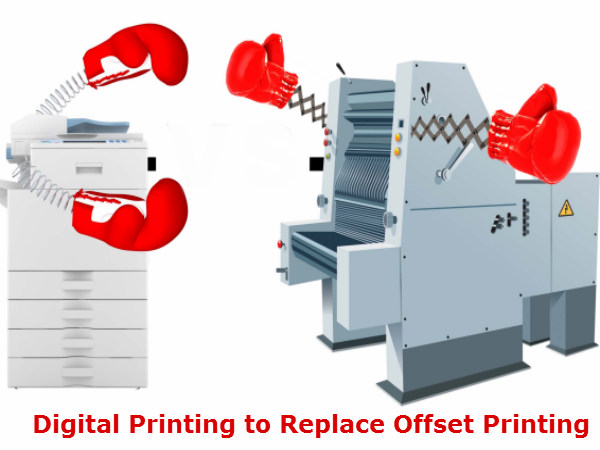 'Digital Printing to Replace Offset Printing in Long Run'