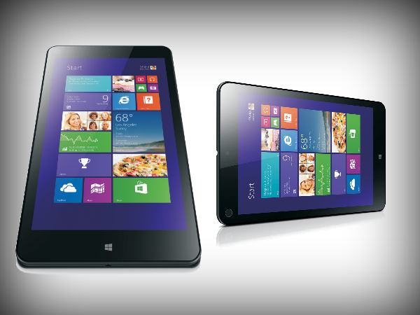 Lenovo Thinkpad 8: Windows 8.1 Tablet Launched in India at Rs 39,999
