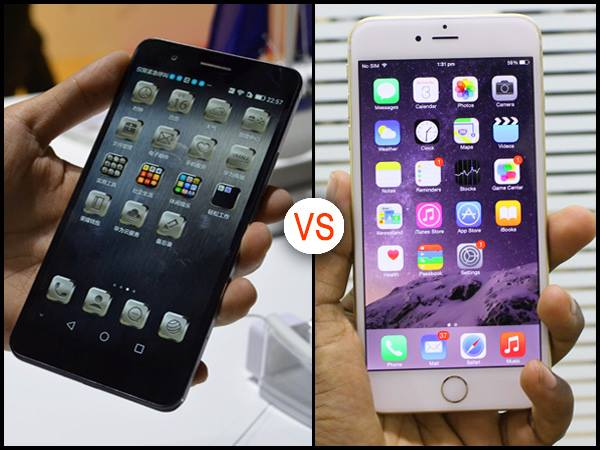 Huawei Honor 6 Plus vs iPhone 6 Plus