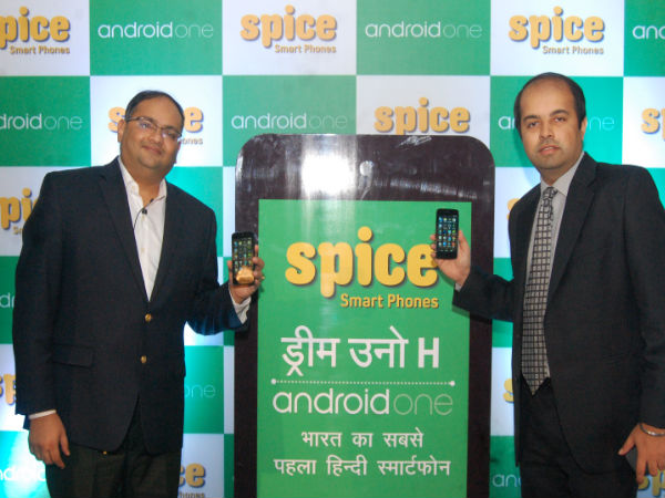 Spice Dream Uno H : Affordable Hindi Android One Smartphone Launched
