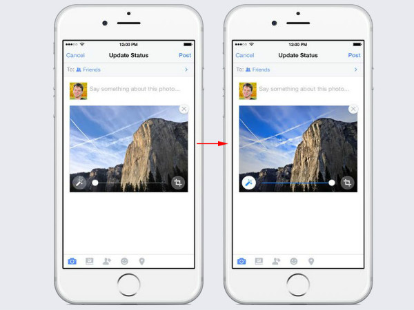 Facebook Now Auto-Enhances Your Photos