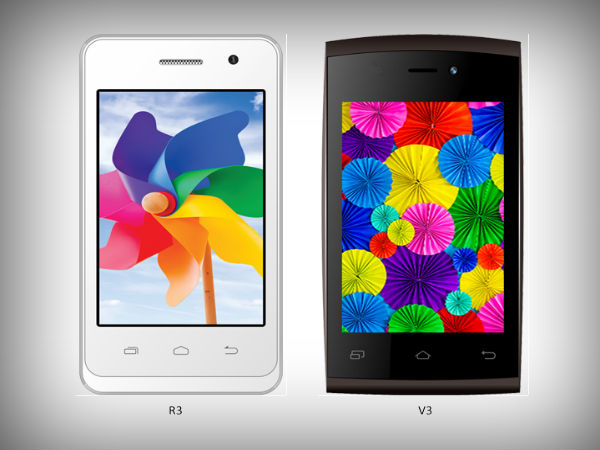 Intex Aqua R3 and V3 Smartphones Spotted Online Ahead of Launch
