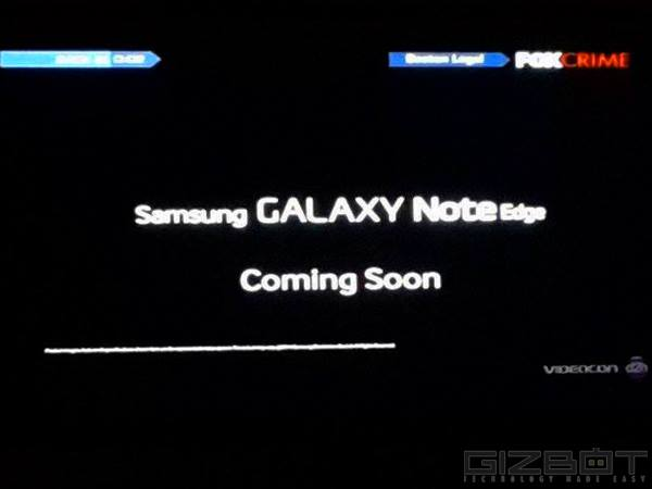 Samsung Teases Galaxy Note Edge launch in India: It's Coming Soon
