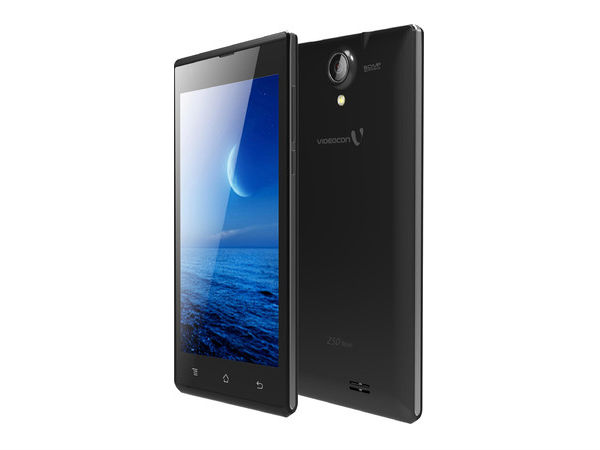 Videocon Infinium Z50 Launched with 3G and 8MP Camera on Flipkart