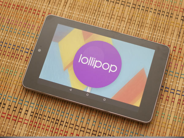 Nexus 7 2012: Lollipop Bug Fix Released By Google