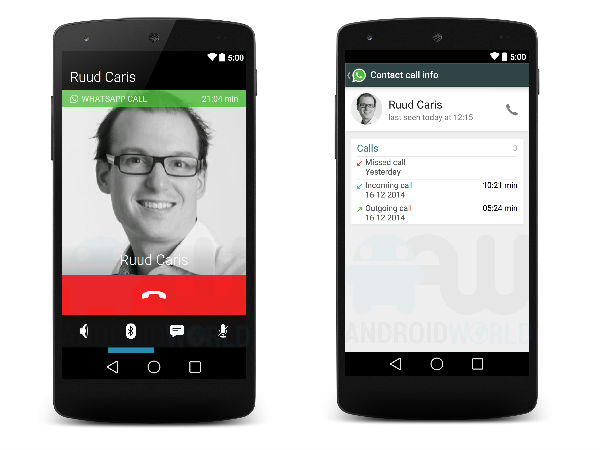 WhatsApp Voice Calling Support Screenshots Leak Again: It's Confirmed!