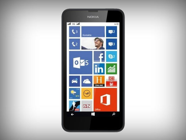 Nokia Lumia 630 Gets A Price Cut: Now Available for Rs 5,999