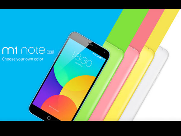 Meizu M1 Note with Octa-core CPU and 2GB RAM to be Launched