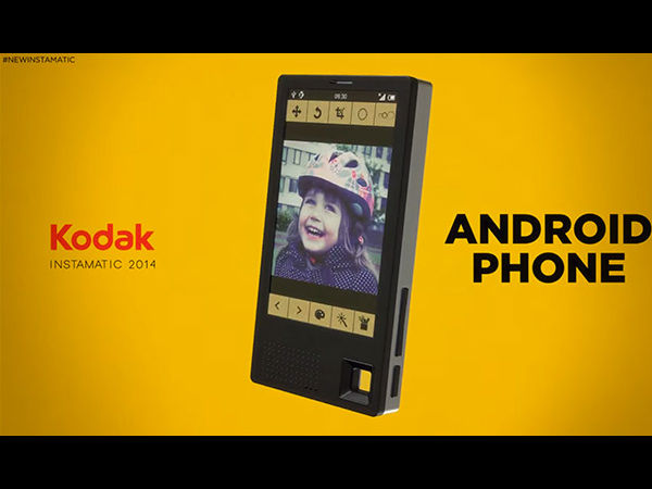 CES 2015: Kodak to Launch Android Smartphone for Photography Geeks