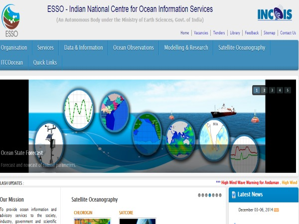 'INCOIS Developing 3D Protocol for Early Tsunami Warning'