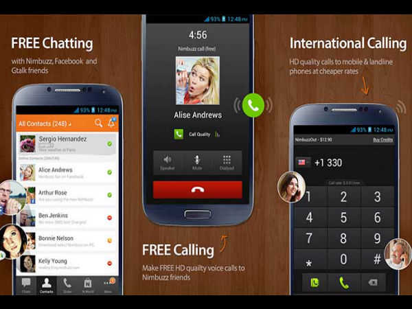 how to make free worldwide calls android