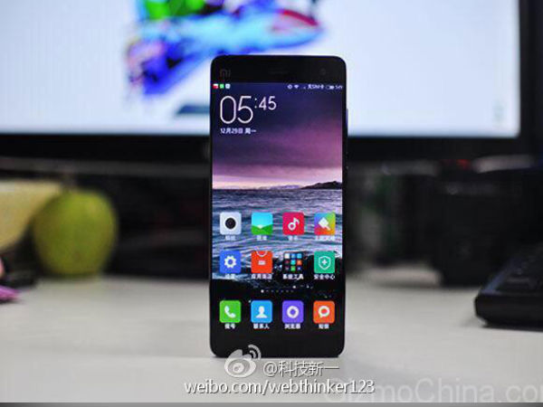Xiaomi Mi5 Black Variant Photos Leaked Online [REPORT]