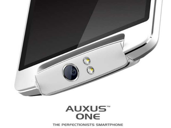 iBerry Auxus One Launched With Swivelling Camera At Rs 15,990