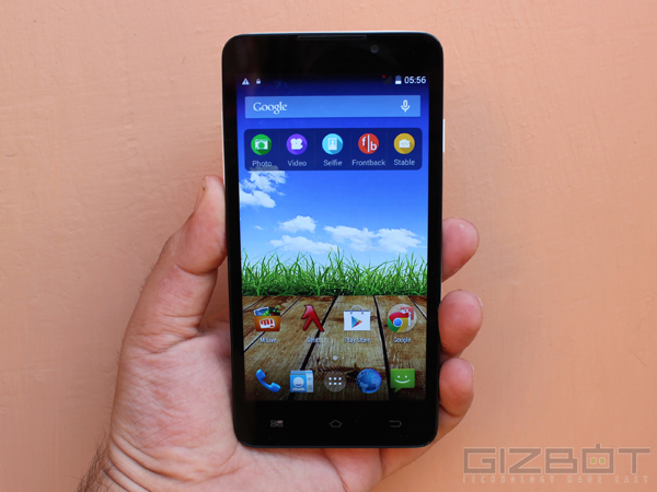 Micromax Canvas Nitro A311 With 16GB Internal Storage Goes Official