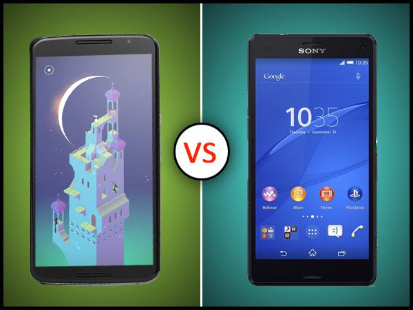 Google Nexus 6 Vs Sony Xperia Z3: The Battle of Two Furies