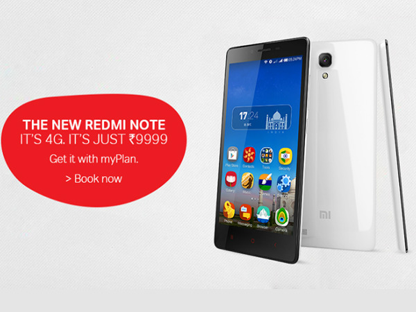 Airtel opens bookings for Redmi Note to push its 4G ...