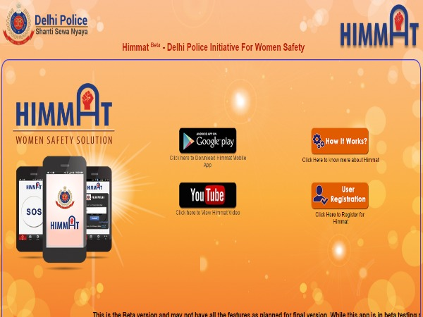 Rajnath Singh Launches Mobile App for Women Safety