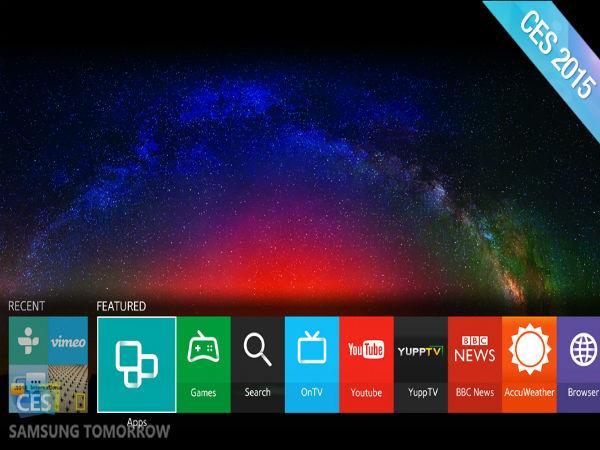 Samsung's New Smart TVs Will Run Tizen OS