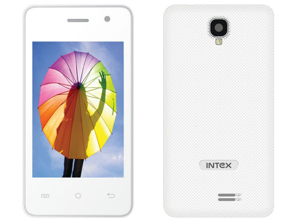 Intex Aqua V2: Affordable 3G Smartphone Launched in India at Rs 3,090