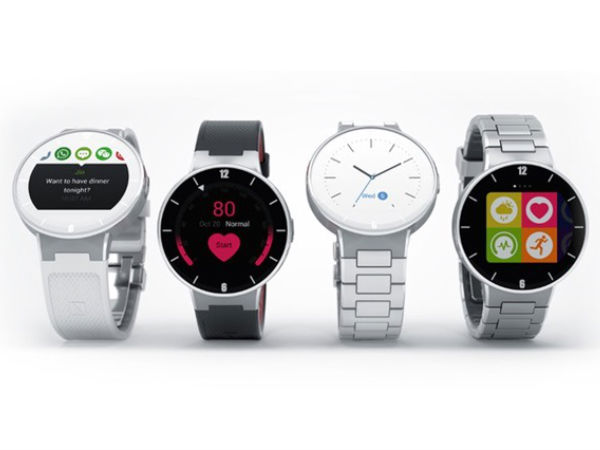 Alcatel OneTouch Watch Announced Ahead of CES 2015