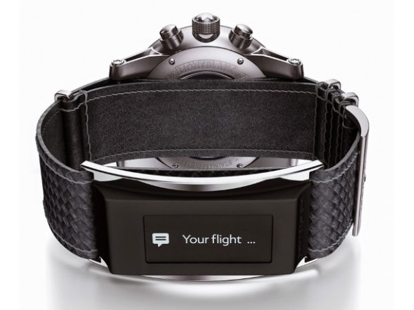 Montblanc Unveils E-Strap: Turns Watch Into Smartwatch